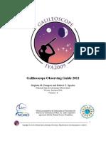 Galileoscope Observing Guide 2011 v1.0
