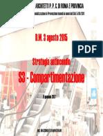Compartimentazione S3
