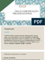 Estrutura e Comunicaao Organizacional