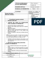 Procedimiento calibracion manual de termometros