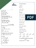 Ficha 03 - Potenciação, radiciação, fatorial.pdf