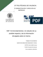 NIIF 16 Arrendamientos Un estudio de su posible impacto