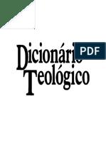 dicionário teológico - CLAUDIONOR CORRÊA DE ANDRADE