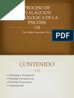 PROCESO DE EVALAUCION PSICOLOGICA DE LA PSICOSIS (1)