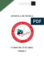 APOSTILA DE GUITARRA - PARTE I