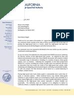Roelof Van Ark Letter to Burlingame