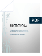 Electrotecnia 2020 Unidad Temática 4