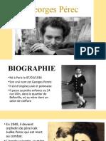 Georges Pérec (презентация)