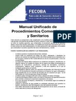 Protocolo de Calzado y Ropa