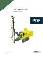 PERFORADORA EPIROC T25E Maintenance instructions