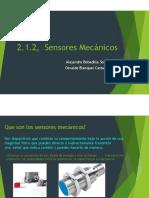 2.1.2 Sensores Mecanicos