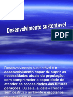 Desenvolvimento Sustentável1