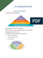 P&G as a management model