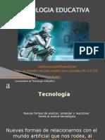 Educación  tecnológica  resumen