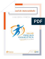 AUTOCUIDADO DE COLUMNA CERVICAL