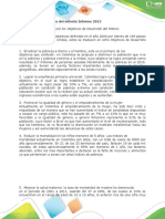 Objetivos de desarrollo del milenio Informe_Yeison