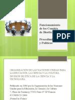 FUNCIONAMIENTO DE LOS COMITES DE BIOETICA final (equipo2).pptx