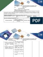Guía de actividades y rúbrica de evaluación- Fase 1 Momento Inicial