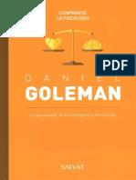 09 Daniel Goleman, Colección Comprende La Psicología - SALVAT