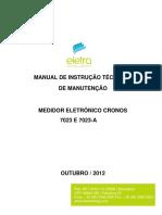 2 - Manual de Instrução Tec e Manut CRONOS 7023 e 7023A_v4