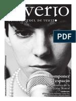 Saverio, revista cruel de teatro nº5 - Componer el espacio