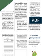 Lecciones que Aprender Leccion 4.doc