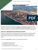 ¿De qué depende la capacidad de una terminal portuaria_ _ MÁS QUE INGENIERÍA