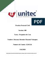 CASO PRACTICO (MARYURY) Practica civil tarea 1
