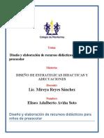 DISEÑO Y ELABORACION DE RECURSOS DIDACTICOS