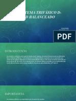 Exposición sobre los sistemas Trifásicos D-D