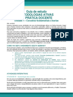 GUIA DE ESTUDO - Metodologias Ativas de Ensino