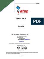 Getting Started Tutorial ETAP 5.0.0.en.pt