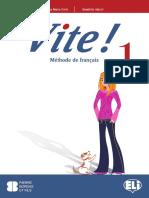 French course Vite1_livre