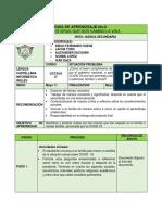 Guía 2 Castellano Ingles y Tecnologia 8°