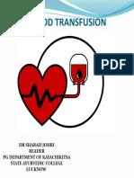 Transfusion medicine by Dr. Sharad Johri.pptx