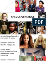 LAB 10. RASGOS GENETICOS