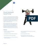 PV212_Hidrolik_El_Pompası