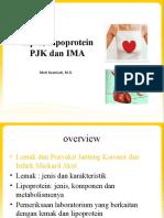 4-5. Lipid, Lipoprotein, PJK dan IMA (1)