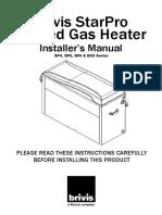 Brius Gas installers-manual