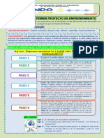 ACTIVIDAD Nº 08 - EPT 3º - MI PRIMER PROYECTO DE EMPRENDIMIENTO