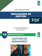 TALLER-16-INDICADORES DE GESTIÓN