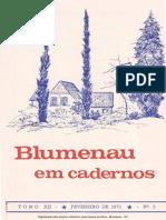 Blumenau em Cadernos - BLU1971002