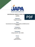 Terapia Conductual - Tarea I.docx