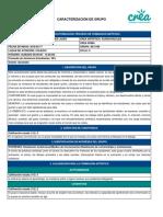 Caracterización AE-3166