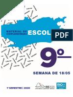 9º espanhol editável
