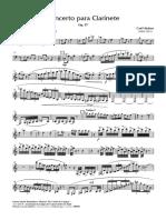 Concerto para Clarinete, Op. 57, EM1600 - Clarinete Solo_000