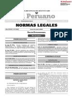 Decreto Supremo Nº 101-2020-PCM