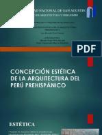 CONCEPCIÓN ESTÉTICA DE LA ARQUITECTURA