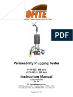 171-193 - Permeability Plugging Tester, 5000 PSI (1)
