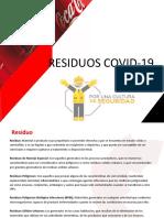 Residuos COVID